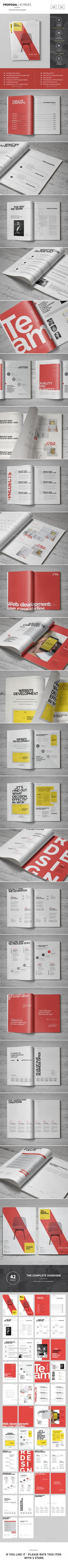 construction proposal templates%0A Sugercube InDesign Proposal Template for Business   Proposal templates   Proposals and Template