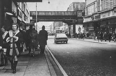 C & A Store in Rye Lane Peckham South East London England in 1969 London History, Local History, Vintage London, Old London, Old Pictures, Old Photos, South London, London Photos, Teenage Years