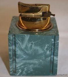 Vintage Kingsway Art Deco Bakelite table top lighter  Our Price: $39.78