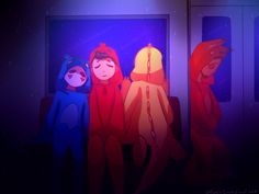 [speedpaint] Calm Ride by ChloesImagination