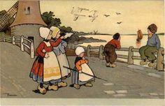 Ethel Parkinson vintage postcard