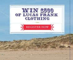 Ends: 29/02 Win £500 worth of Lucas Frank Clothing http://shar.es/fIDE0