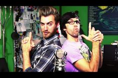 The loves of my life. My obsession forever. Rhett and Link.
