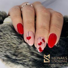 Manicure Nail Designs, Nail Manicure, Cat Nails, Top Nail, Stylish Nails, Nails Inspiration, Beauty Nails, Nail Art, Valentines