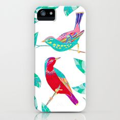 Songbirds 1 iPhone & iPod Case by Jacqueline Maldonado - $35.00