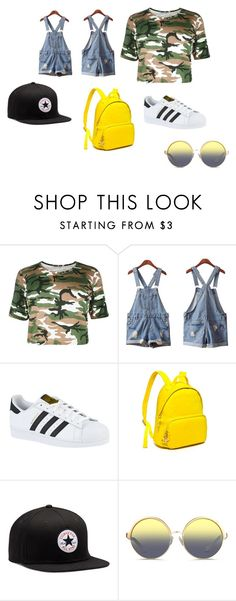 """Go out with friends"" by natalichxituni on Polyvore featuring Isadora, adidas, Tommy Hilfiger, Converse and Matthew Williamson"