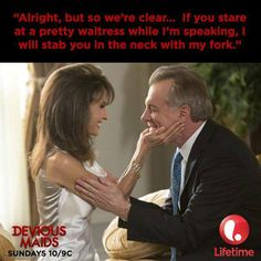 Jean Pierre and her sassy self #deviousmaids