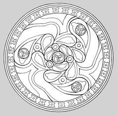 Mandalas cycle 3 travail en autonomie pinterest travaux - Mandalas cycle 3 ...