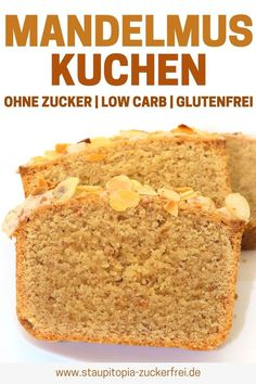 Kuchen mit Mandelmus ohne Zucker Delicious – recipes with almond butter, like this almond butter cake without sugar, should be made by everyone. Fast, easy and absolutely delicious. Try the almond cake directly. butter cake without sugar Crockpot Recipes, Keto Recipes, Cake Recipes, Healthy Dessert Recipes, Healthy Snacks, Delicious Recipes, Eating Healthy, Clean Eating, Dinner Recipes