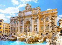 FOURTH STOP: Trevi Fountain in Rome