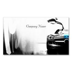 Black Automotive Business Card Automotive Business Cards - Automotive business card templates