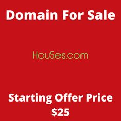Hou5es.com domain name for sale! Visit it now to purchase it!  #hou5es #hou5e #domainforsale #domainname #domains #domainsale #domainnameforsale #website K Store, Budgeting, Names, Website, Live, Tent, Homemade Tea, Luxury Watches, Bonsai