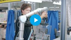 Video - Product Testing with Collaborative Robot and Robotiq Adaptive Gripper Robot Applications, Robot Gripper, Robotics, Photo And Video, Videos