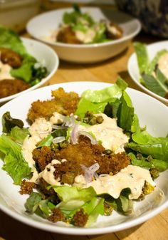 Remoulade Dressing - An all around Thousand Island inspired dressing that can be used on fried foods, burgers and salads.