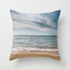 Buy You see right through me Throw Pillow by xiari_photo. Worldwide shipping available at Society6.com. Just one of millions of high quality products available. sea, sand, beach, ocean, photo, photography, landscape, nature, blue, calm, waves, white, clouds, cloud, sky, nikon, dslr, seascape, horizon line, line, straight, minimal, summer, season, spring, orange, gold, hot, warm, peace, peaceful, balance
