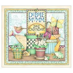 Image detail for -The Debbie Mumm 2002 Wall Calendar: Kim Jacobs, Debbie Mumm ...