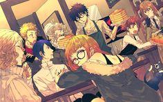 Télécharger fonds d'écran Persona 5, 4k, megami tensei, supprimer voler Sakura, Yusuke Kitagawa, Makoto Niijima, rie de signature de Sakamoto, le protagoniste, Ann Takamaki