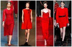 Fiebre #roug. Lo que amaremos en otoño,  el #rojo vivirá una segunda juventud... de noche