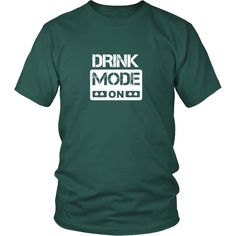 """[product_style]-Happy Saint Patrick's Day - """" Drink Mode ON """" - custom made funny t-shirts.-Teelime"""