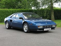 Introduced in 1989 the Ferrari Mondial t was a 'spearhead for a new generation of Ferraris'. Ferrari Mondial, Ferrari Car, Red Heads, Manual Transmission, Vroom Vroom, Scarf Styles, Exotic Cars, Custom Cars, Jdm