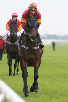 DAVIDS PARK RIDDEN BY WAYNE LORDAN CANTERING TO THE START FOR THE TATTERSALLS IRISH 2,000 GUINEAS