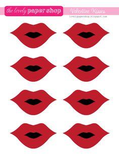 Fabric Lique Template Pdf Y Lips 4 Designs On Luulla Crafty Pinterest And Fabrics