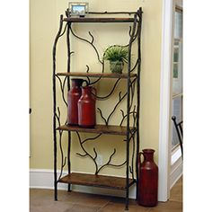 Large South Fork Baker's Rack W/ Shelves