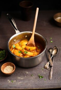 Sinfully Spicy Dum Aloo - Slow Cooked Spicy Potatoes001