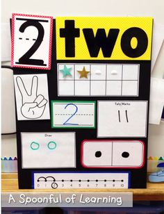 Numbers, Numbers, Numbers! The first ten weeks of school focus on one number each week. Represent with fingers, ten frame, numeral, number line, number cube, word, and manipulatives.