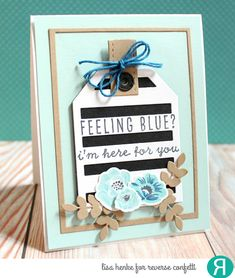 Card by Lisa Henke. Reverse Confetti stamp sets: Garden Bunch, Forever in our Hearts. Confetti Cuts: Big Stripes Later Tag, Topped Off Tag, and Garden Bunch. Friendship card. Encouragement card.