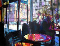 Annie Helmericks-Louder, pastel on paper