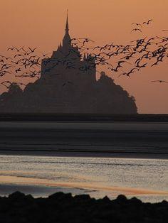 Mont Saint Michel, Le Mont-Saint-Michel, France