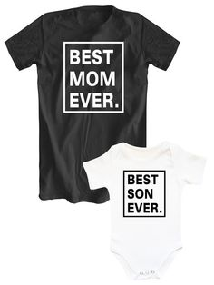 Mother And Son Matching Outfits: 99 Best Photo Inspired Mother Daughter Shirts, Mother Daughter Fashion, Mommy And Son, Mom Son, Mom And Son Outfits, Family Outfits, Matching Shirts, Matching Outfits, Family Tees