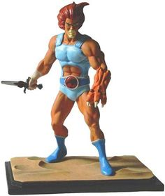 Icon Heroes Thundercats 2010 SDCC San Diego Comic Con Exclusive 6 Inch Poly Resin Statue LionO by Jazwares. $34.99. Icon Heroes releases their first in the Thundercats line of under 6 inch statues.. Lion-O prepares his battle stance with his Sword of Omens and Claw Glove. Thunder, Thunder, Thundercats, HO!!. A San Diego Comic Con Exclusive limited to just 500 pieces. Great companion piece with other 6 inch statues and figures.. Icon Heroes kicks off their series of Thundercats M...