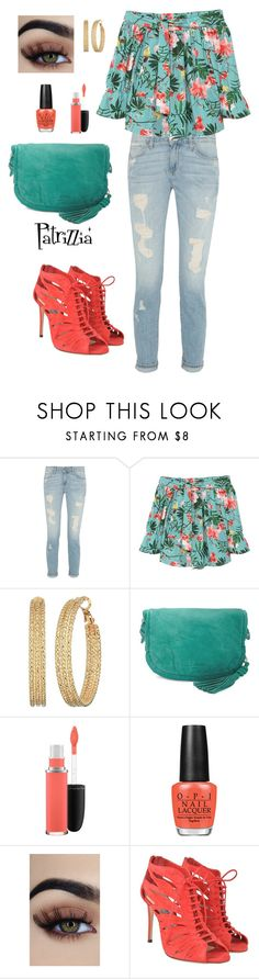 Patrizzia25.07.2017a by patrizzia on Polyvore featuring moda, MANGO, Jimmy Choo, Liebeskind, GUESS, MAC Cosmetics, OPI and patrizziapolyvore