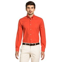 Versace 19.69 Abbigliamento Sportivo Srl Milano Italia Mens Fit Slim Button Down Neck Shirt SBD14