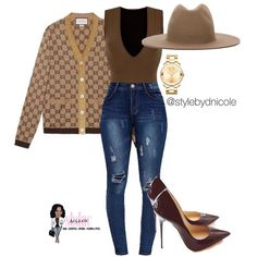 Ni'Cole inspired look. That hat gots to goii Classy Outfits, Chic Outfits, Winter Outfits, Fashion Outfits, Fashion Trends, Love Fashion, Fashion Looks, Womens Fashion, Casual Chic