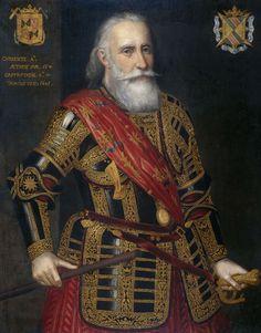 Portrait of Francisco Hurtado de Mendoza, Admiral of Aragon, Anonymous, 1601