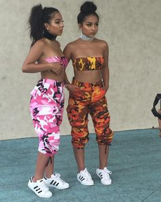 Top 15 Siangie Twins Outfits for You And Your Twin Twin Outfits, Teen Fashion Outfits, Dope Outfits, Outfits For Teens, Summer Outfits, Girl Outfits, Fashion Models, Matching Outfits Best Friend, Best Friend Outfits