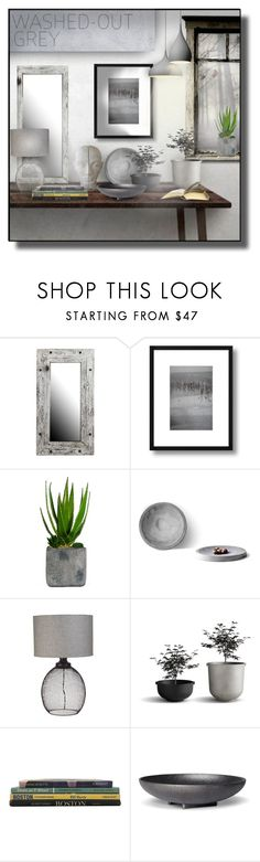 """""""Washed-Out Grey"""" by sally-simpson ❤ liked on Polyvore featuring interior, interiors, interior design, home, home decor, interior decorating, Allan Andrews, Laura Ashley and Skeppshult"""