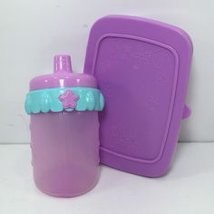 Baby Alive Purple Non Magnetic Bottle Wipe Container Accessories 13 | eBay