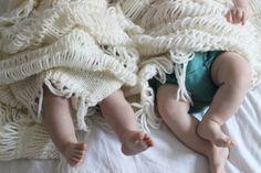 Charlottpettersen.no: Baby boho blanket by Ministrikk