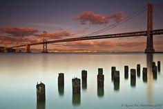 Bay Bridge - San Francisco, California, USA