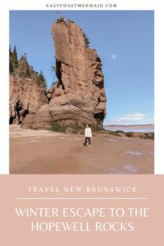 Winter Escape to the Hopewell Rocks - East Coast Mermaid East Coast Canada, Hopewell Rocks, Ontario Travel, Things To Do At Home, Canadian Travel, New Brunswick, Rock Formations, Winter Travel, Weekend Is Over