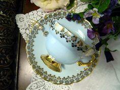Rosina Tea Cup and Saucer Teacup - 1950s Bone China -