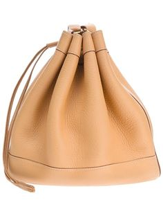 Hermès Vintage Leather Bucket Bag