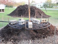 using compost to heat a green house or small hen house.