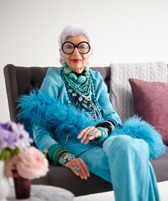 Style Icon Iris Apfel Sells Her Epic Collection #refinery29  http://www.refinery29.com/2014/03/65277/one-kings-lane-iris-apfel-sale