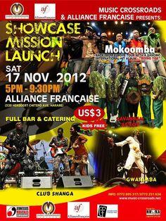 MC Zimbabwe Showcase - 17 November #alliancefrancaise #jeunessesmusicales #mokoomba