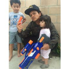 brunomars: Needless to say the other team didn't make it. #NerfWarriors